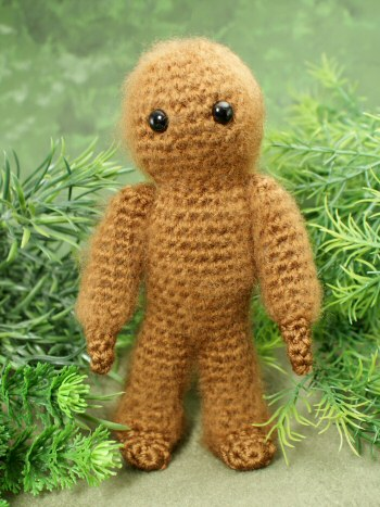 Yeti and Bigfoot - amigurumi crochet pattern - Click Image to Close