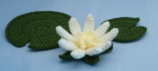 Water Lily Crochet Pattern Planetjune Shop Cute And Realistic