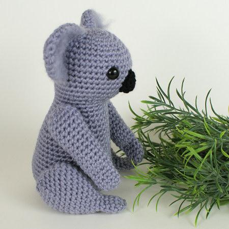 Koala Amigurumi Crochet Pattern Planetjune Shop Cute And