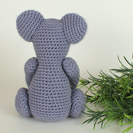 Koala amigurumi crochet pattern - Click Image to Close