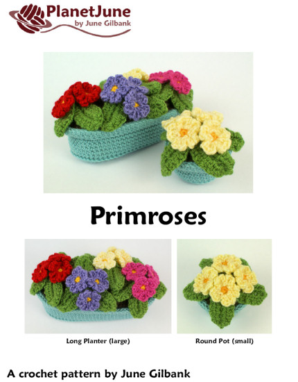 Primroses crochet pattern - Click Image to Close