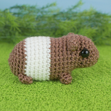 Baby Guinea Pigs - four amigurumi crochet patterns : PlanetJune Shop ...
