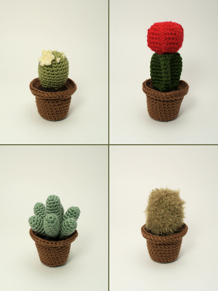 Cactus Collections 1 and 2 - EIGHT crochet patterns - Click Image to Close