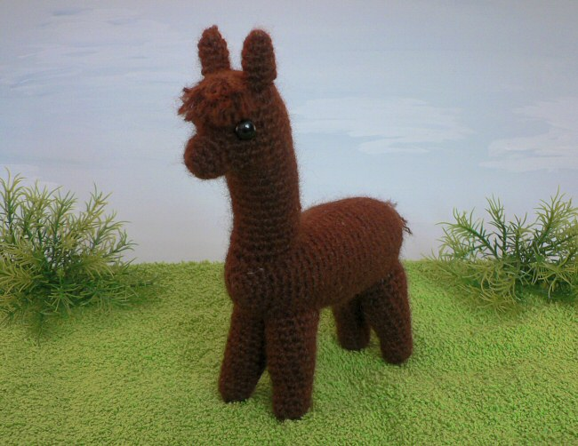 Alpaca Amigurumi Crochet Pattern Planetjune Shop Cute And