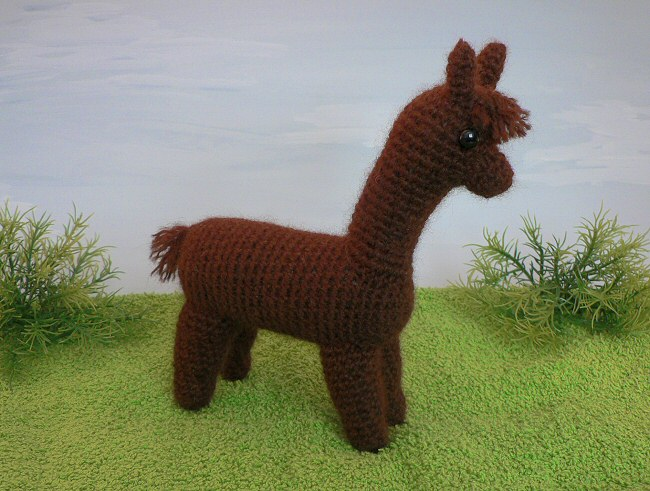 Alpaca Crochet Amigurumi : Alpaca amigurumi crochet pattern planetjune shop cute and