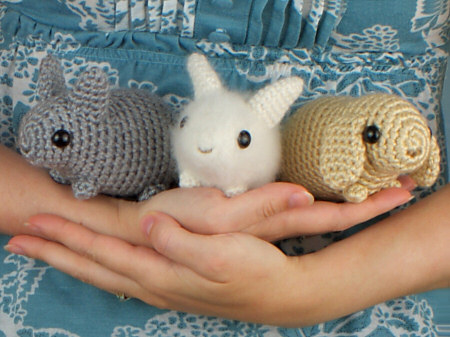 5483) CUTE AMIGURUMI | SLEEPING RABBIT| BIG FACE| CROCHET TUTORIAL ... | 337x450