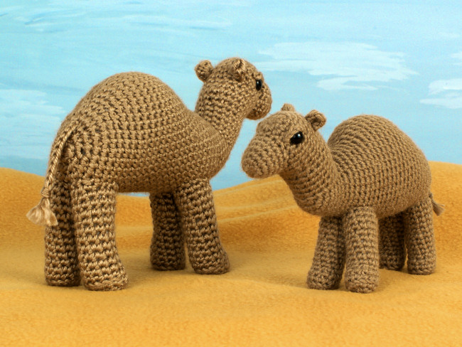 Camel amigurumi crochet pattern - Click Image to Close