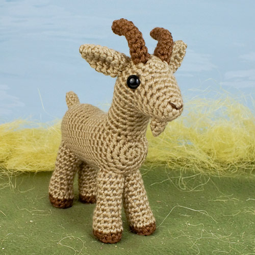Farmyard Goats amigurumi crochet pattern - Click Image to Close
