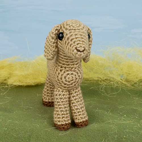 Goat Lisa - Amigurumi Crochet Pattern / from DioneDesign on Etsy | 500x500