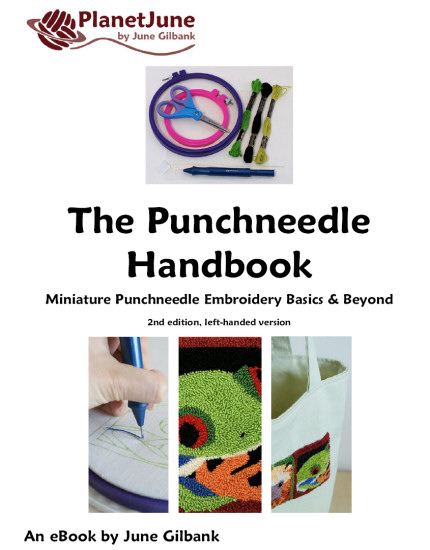 The Punchneedle Handbook - an Embroidery ebook by June Gilbank - Click Image to Close
