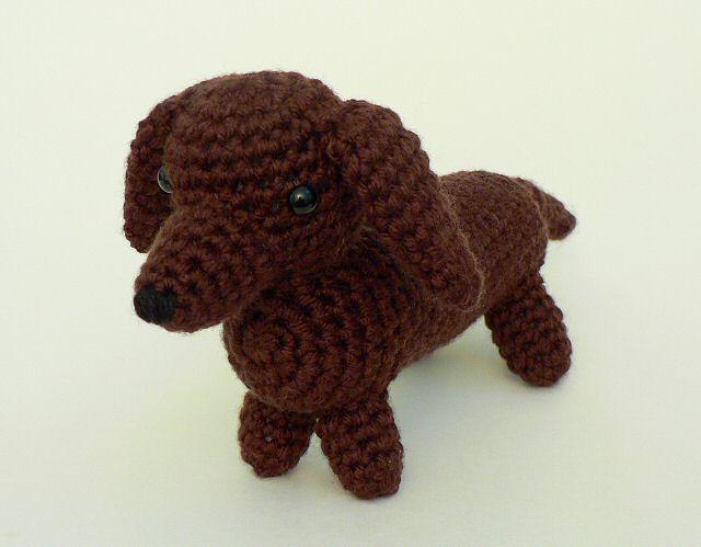 Amigurumi Dog Crochet Patterns : Amidogs set 1 three amigurumi crochet patterns : planetjune shop
