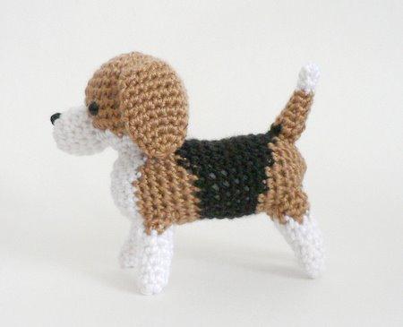 Amigurumi Dog Crochet Patterns : Amidogs beagle amigurumi crochet pattern : planetjune shop cute and