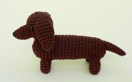Free Dachshund Crochet Pattern Image Collections Knitting Patterns