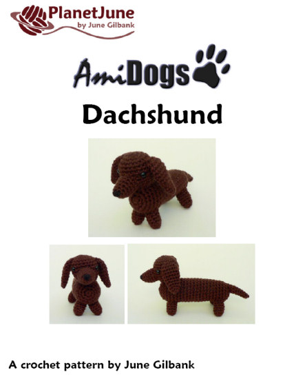 Ravelry: Boodles Dachshund FREE pattern by Laura Sutcliffe ... | 550x430