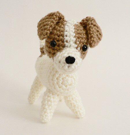 Amidogs Jack Russell Terrier Amigurumi Crochet Pattern Planetjune