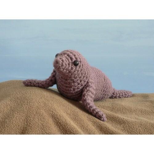 AquaAmi Sea Lion amigurumi crochet pattern