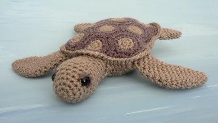 Amigurumi Turtle Pattern : Aquaami sea turtle amigurumi crochet pattern planetjune shop