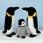 adult and baby emperor penguin multipack