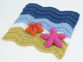 Turtle Beach blanket pattern by planetjune