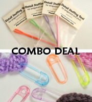 stuffing tool and stitch markers multipack